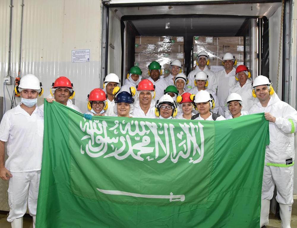 En Córdoba se despacha el primer contenedor con carne bovina a Arabia Saudita