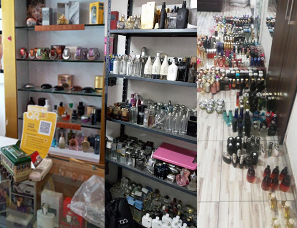 Más de 22.000 unidades de productos fraudulentos decomisadas en Bogotá y Medellín