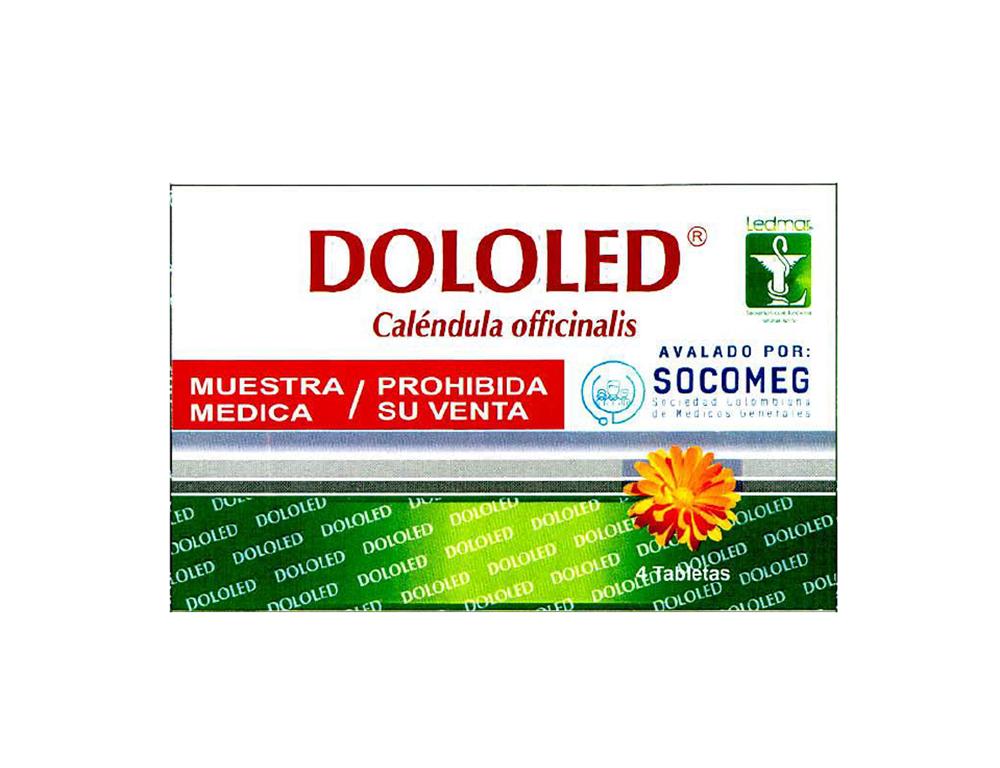 Aclaraciones frente a la eventual presencia de diclofenaco en el producto fitoterapéutico caléndula officinalis marca DOLOLED