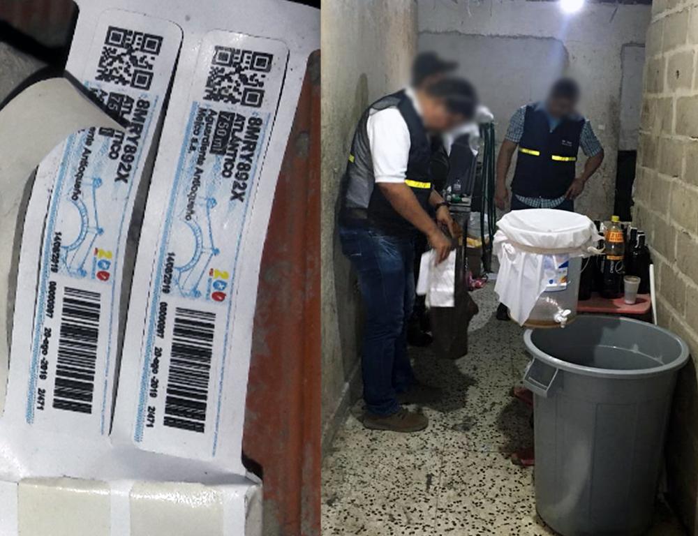 Invima combate ilegalidad de bebidas alcohólicas en Barranquilla