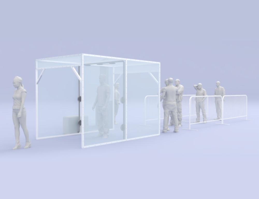 Invima advierte sobre las cabinas de aspersión para la desinfección de personas