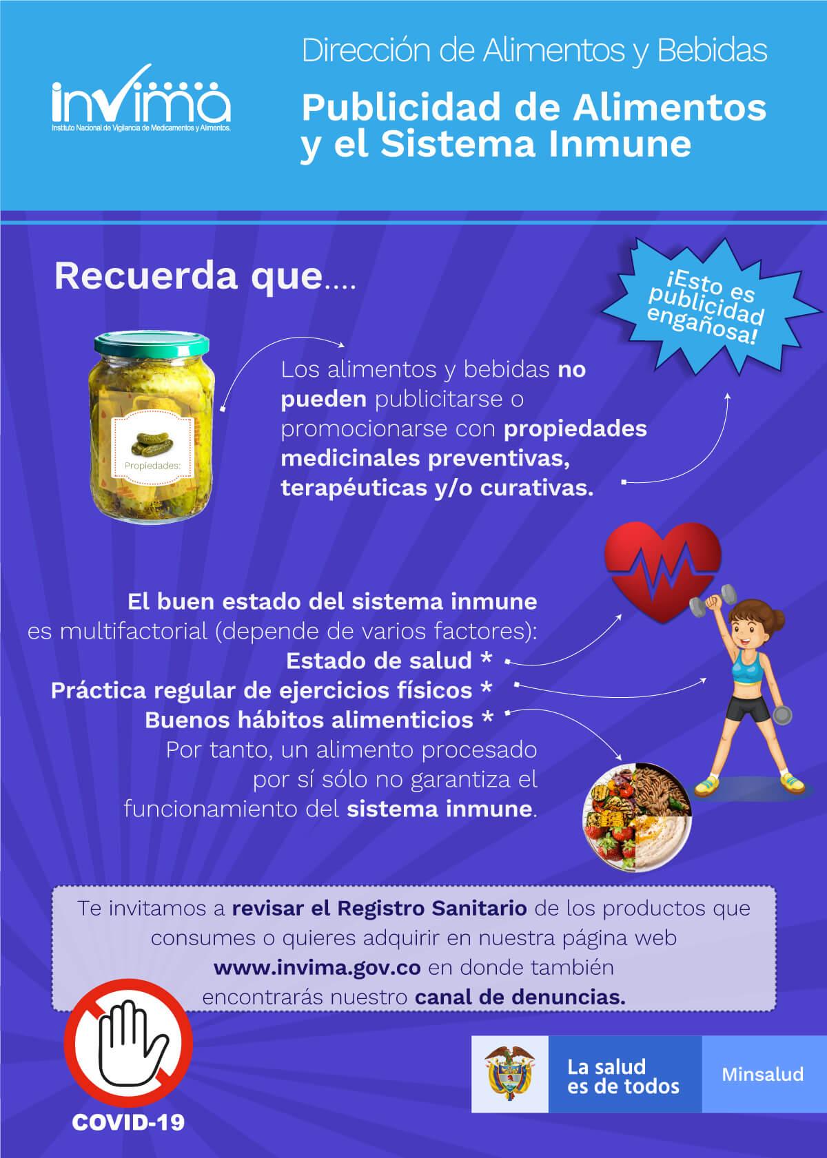 Publicidad de Alimentos y el Sistema Inmune
