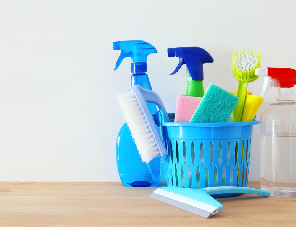 Juntos, pero no revueltos: productos de higiene doméstica