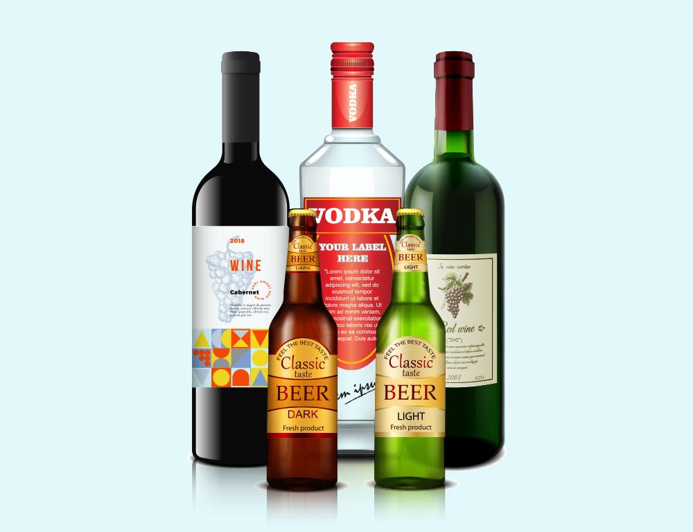 Ojo con la etiqueta en las bebidas alcohólicas