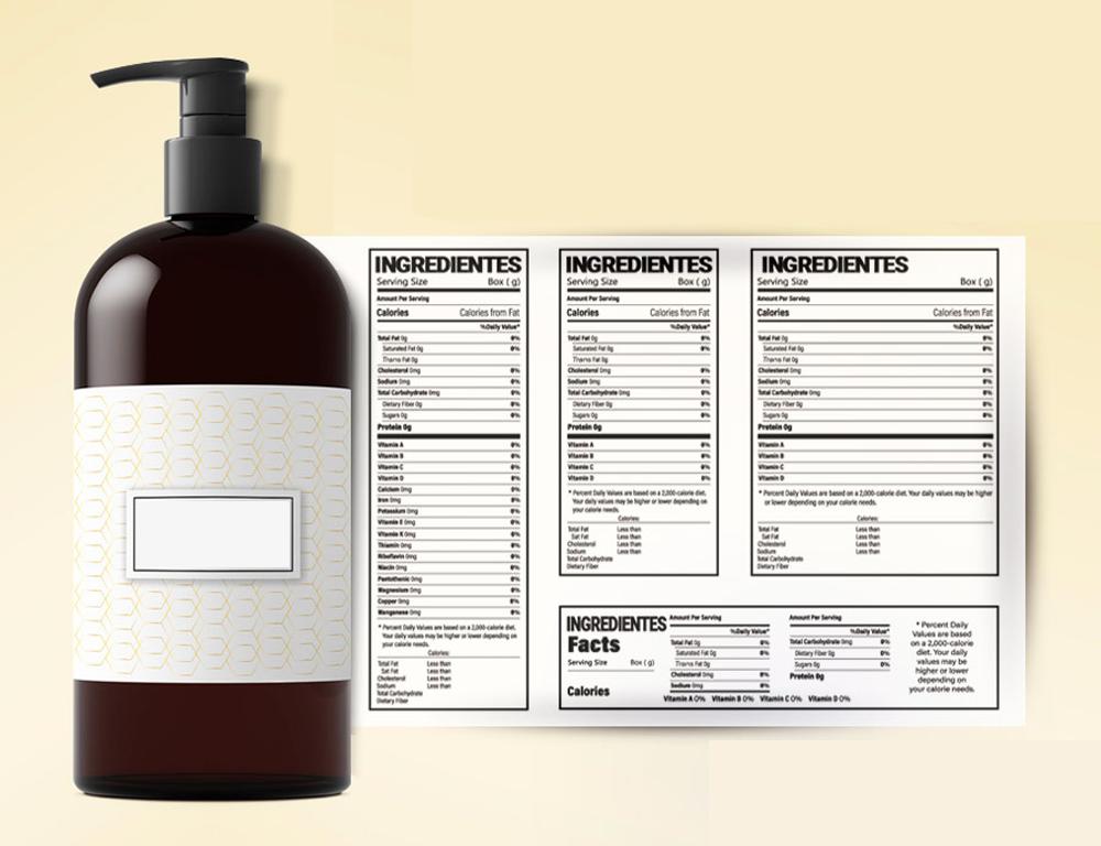 Nuevo procedimiento para la radicación de etiquetas de productos cosméticos