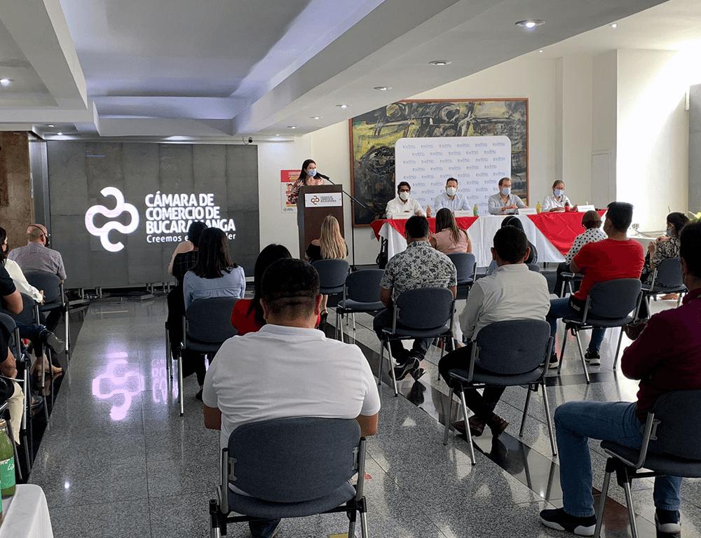 Invima continúa con la desconcentración de trámites de registros sanitarios para la industria de alimentos y bebidas en Santander